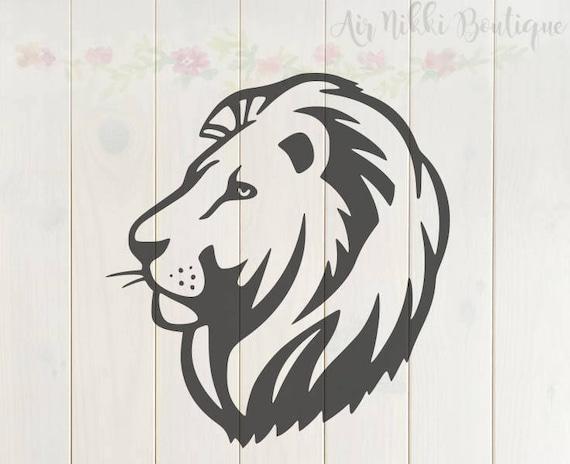 Download Lion SVG PNG DXF files instant download