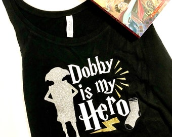 Dobby Is My Hero Shirt - Dobby Shirt - Harry Potter Shirt - Dobby the House Elf