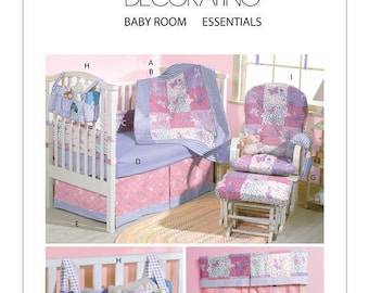 McCall's M4855 Baby Room Essentials Sewing Pattern / Uncut FF