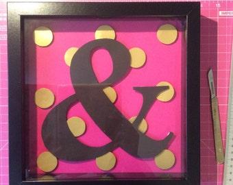 Pink & papercut