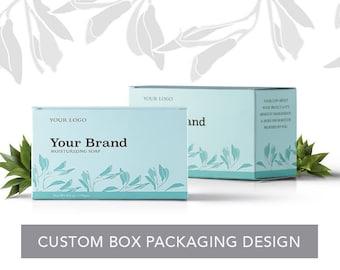 Custom Package Box Design - Packaging Design - Custom Design - Graphic Design - Branding - Product Box Design