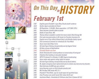 Digital File: Sands of Time (On This Day In History)
