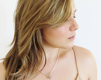 Smoky Quartz Crystal Necklace