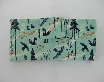 Womens Wallet, Wildlife  Wallet, Nature Wallet, Gift for Women,Wallet Clutch, Travel Wallet, Wallet Clutch