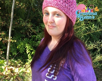 Criss Cross Hat to Cowl Pattern