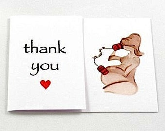 Baby Shower Thankyou Cards 10pk 'See You Soon'