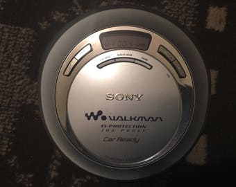 Sony cd walkman d-ej626ck tested working no headphones
