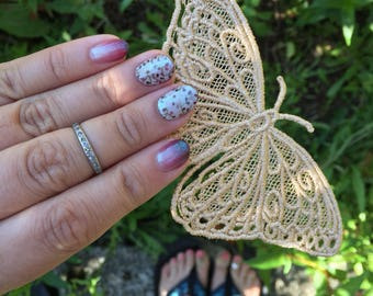 Freestanding Lace Butterfly