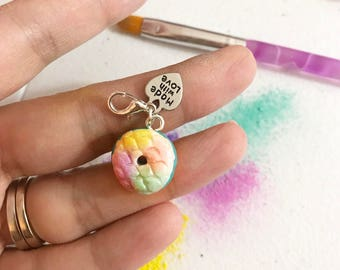 Mermaid donut charm