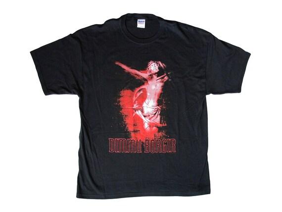 Vintage Dimmu Borgir Puritanical Euphoric Misanthropia T-Shirt