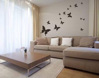 Wall sticker - Butterflies  (211n)
