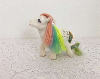 CONFETTI, Rainbow Ponies, My Little Pony, vintage G1 My Little Pony, Friendship is Magic