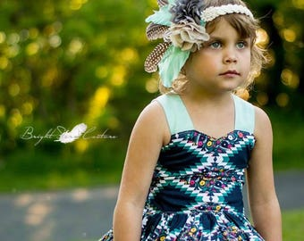 fashion hair accessories - feather headband - feather accessories - boho headband - Feather headband Flapper - headband with feathers