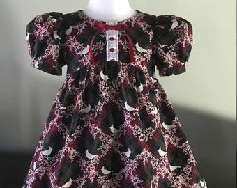 Christmas Dress, Baby girl Dress, Girl Dress