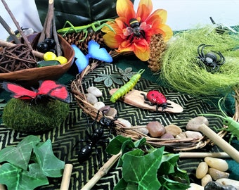 Bug insect loose parts small world play