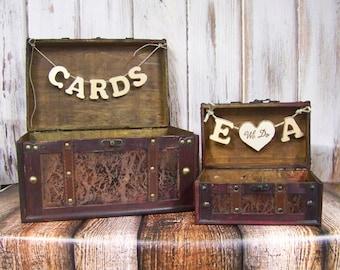 Wedding Card Box, Shabby Chic Card Box, Advice Box, Shabby Chic Wedding, Brown Card Box, Wooden Card Box, Rustic Weddding