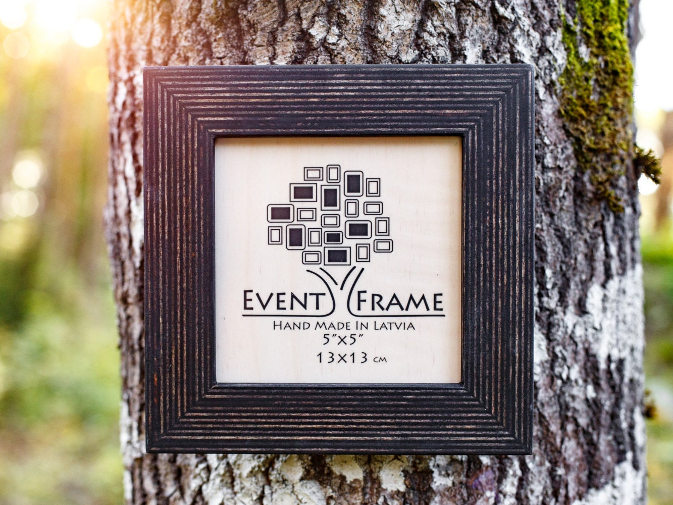 5x5 SQUARE Picture frame INSTAGRAM Size Unique Rustic