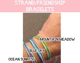 2018 Mutual Theme Strand Friendship Bracelet with PEACE charm Peace in Me LDS young women