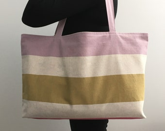 Beach bag or supplies in 100% pre-washed cotton.