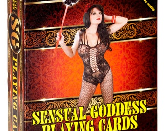 The Sensual Goddess Playing Cards - Poker Size