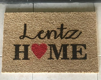Door Mat, Welcome Mat, Doormat, Housewarming Gift, Custom Door Mat, Wedding Gift, Personalized Mat, Welcome, Closing Gift --4101-WMAT-000