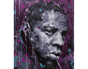 JAY-Z from New York Triptic Wall Art Giclee Print, 50cm x 70cm