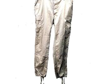 Large Regular Propper Khaki BDU Tactical Pants