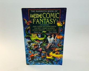 Vintage Fantasy Book The Mammoth Book of Awesome Comic Fantasy Softcover Anthology