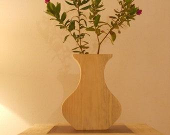 Wooden Flower-Pot
