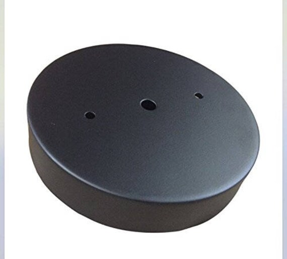 Perfect Black Ceiling Light Canopy Kit Deep Single Hole Canopy With