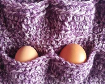 Purple Petite Egg Apron
