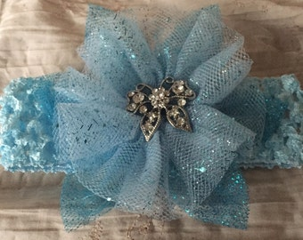 Blue Girl's Headband
