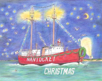 Nantucket (Lightship) Christmas