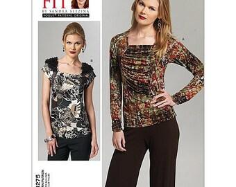 Vogue V1275 One Size Misses Sandra Betzina Sewing Pattern / Uncut FF