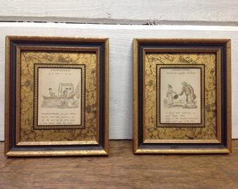 Vintage Victorian Framed Prints