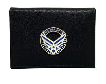 Air Force Business Card Case – Wings
