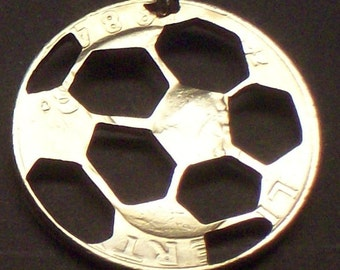 Soccer Cut Coin Jewelry
