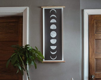 Moon Phases Pull Down Chart
