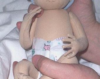 Preemie Doll Patterns – Cloth Doll Making Sewing Pattern - PDF Download
