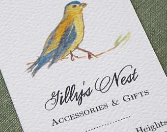 Unique Bird Business Card, Mommy Card, Calling Card - Set of 50