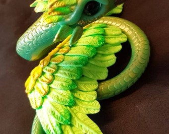Jade Occamy, Harry Potter, fantastic beasts and where to find them, Magic Skulpture