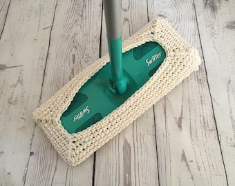Swiffer Cover Reusable Swiffer Pad Off White Made to Order Includes 1 cover