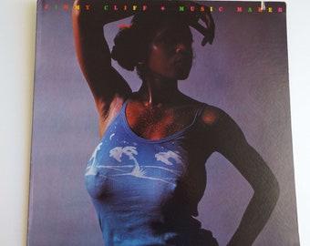 Vintage 1974 Jimmy Cliff Music Maker LP Vinyl Record US Pressing Reggae