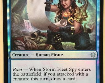 Storm Fleet Spy  *FOIL*, Limited edition MTG Artist proof, By Scott Murphy