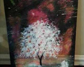 Spirit Tree Acrylic Painting