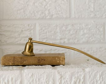 Brass candle snuffer