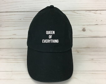 queen of everything dad hat - funny hat - queen