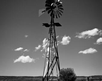 Windmill, Soapstone Natural Area, Colorado