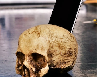 Human Skull Replica - Handmade