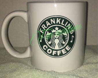 Personalized Starbuck Coffee Mug